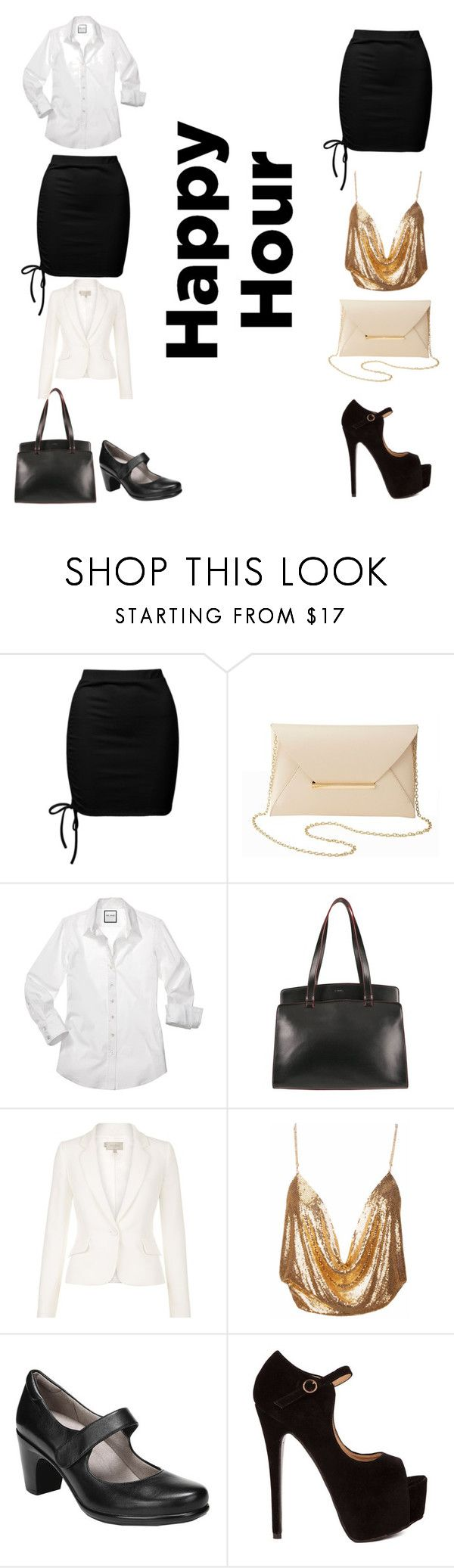 """""""Happy hour"""" by d5sand ❤ liked on Polyvore featuring Sans Souci, Charlotte Russe, Lodis, Hobbs and Naturalizer"""