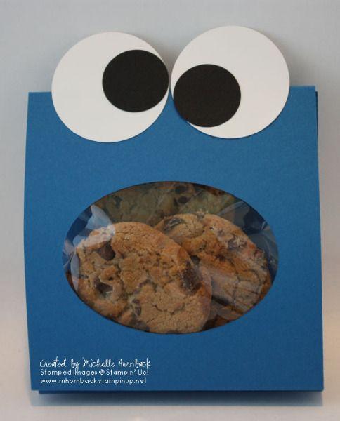 Cookie Monster Cookie Bag