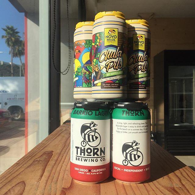 Taco Tuesday 🌮🍺 @novobrazil or @thornbeer #Lager #Pilsner #AleTalesSD #AleTales #KnowYourBeer #SanDiego #SanDiegoBeer #LindaVista #DrinkSD #IndieBeer  #DrinkIndieBeer #IndependentBeer #CraftBeer #DrinkCraftBeer #BeerMe #InstaBeer #BeerGram #sandiego #sandiegoconnection #sdlocals #sandiegolocals - posted by Ale Tales ((Opening Soon)) https://www.instagram.com/aletalessd. See more San Diego Beer at http://sdconnection.com