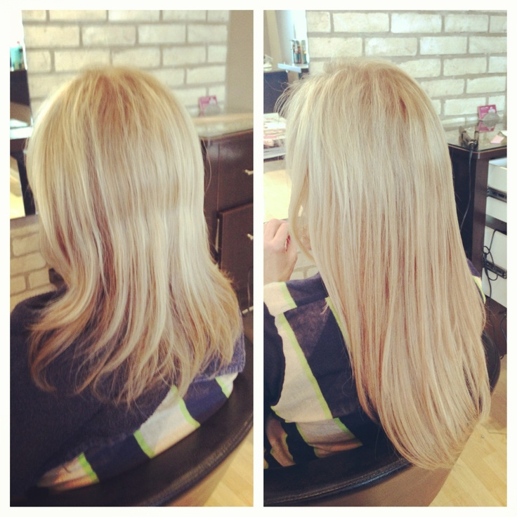 De 9 bsta hair extension before and after bilderna p pinterest before after fusion hair extensions pmusecretfo Image collections