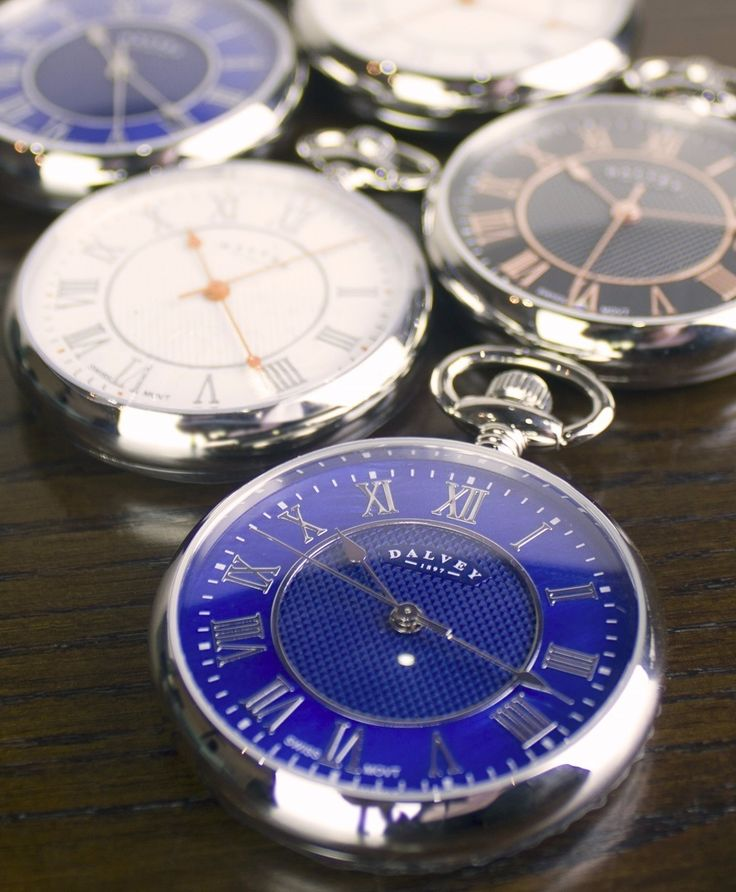 We have a wide selection of Dalvey of Scotland pocket watches. These are always a popular choice for birthdays, christenings and weddings!