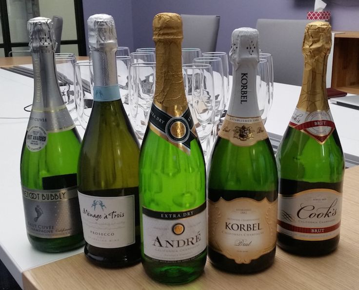 We Tasted 5 Cheap Champagnes So You Don't Have To