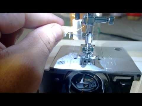 Maquina Singer brilliance 6160- como costurar.