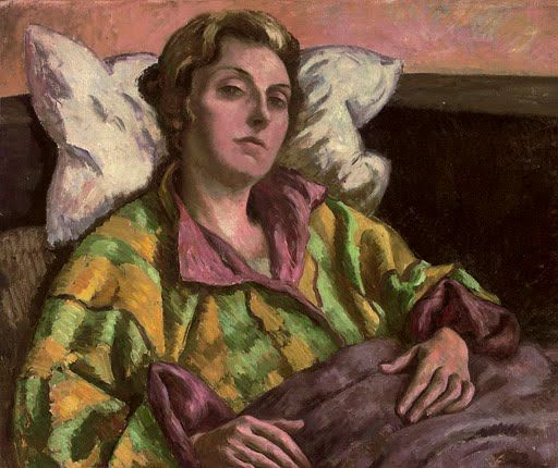Portrait of Helen Anrep by Roger Fry (British, 1866–1934).