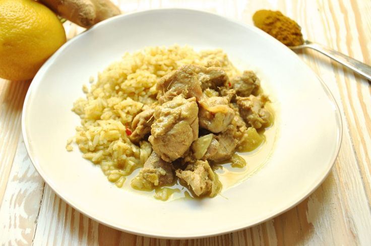 Pollo thai al curry