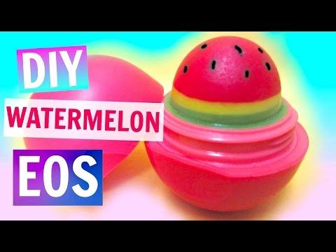 Watermelon EOS | DIY EOS Lip Balm - YouTube
