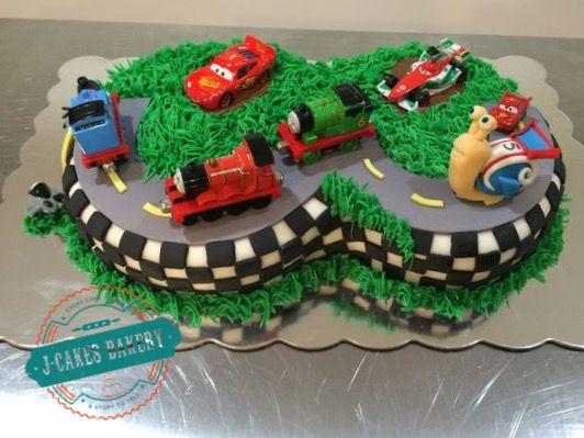 #3 Race Track Cake!