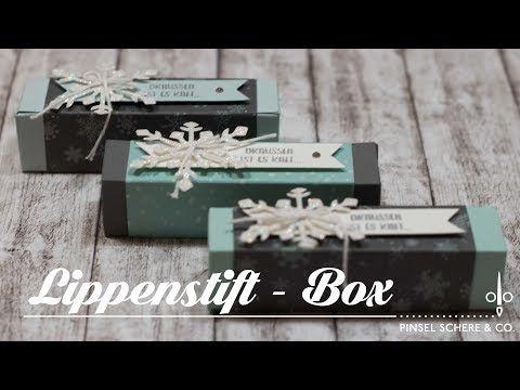 Lippenstift-Box   Verpackung   Geschenkidee mit Produkten von Stampin' Up! - YouTube