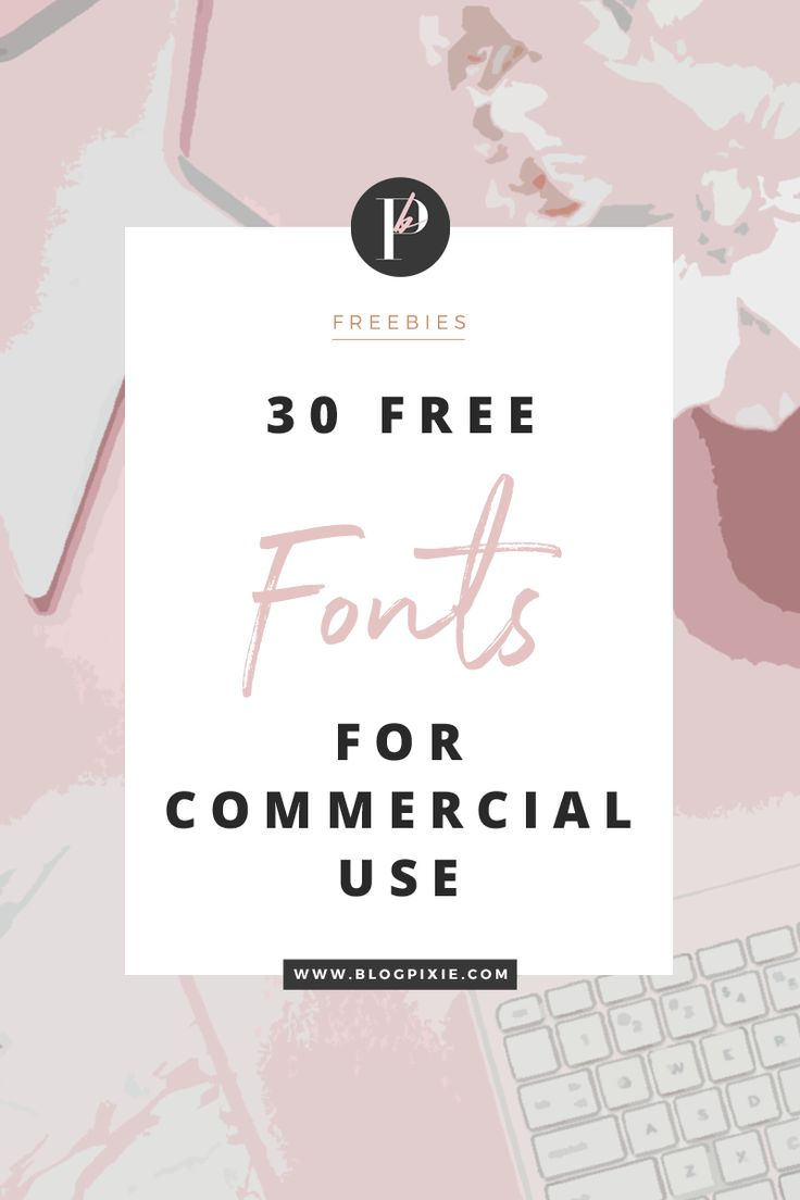 As I've realised how much you all love a good collection of free fonts, I thought I'd create a new one with lots of new free fonts for you to download. And guess what, they're all free for commercial use*, which means you can use them for logos, branding for clients, t-shirt, mug and stationary…