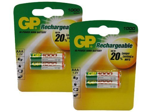 Canon MC10 Set AAA NiMH Rechargeable GP Battery - 4pk (1000mAh) by GP. $6.00. Canon MC10 Set AAA NiMH Rechargeable GP Battery - 4pk (1000mAh)