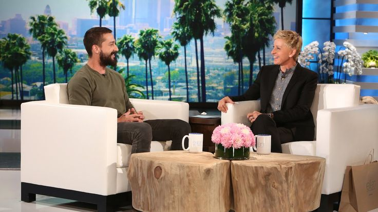 Shia LaBeouf Opens Up About His Recent History // and that ending tho, nice, Ellen, nice...