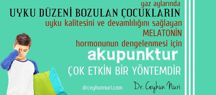 UYKU DÜZENİ BOZULAN ÇOCUKLAR! #uyku #öğrenci #okul #tatil #uykudüzeni #akupunktur #ankara #doktor #ceyhunnuri drceyhunnuri.com