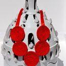 Collane medie - Kalung - Collana in cotone - un prodotto unico di Scicche su DaWanda