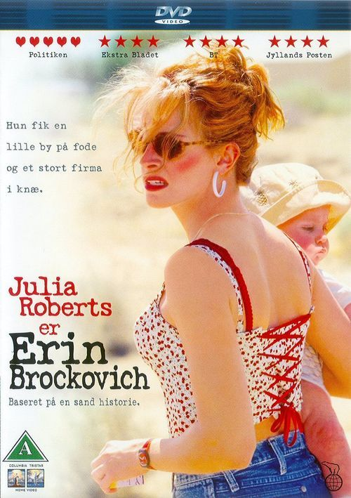 Watch Erin Brockovich (2000) Full Movie HD Free Download, A twice-divorced mother of three who sees an injustice, takes on the bad guy and wins -- with a little help from her push-up bra. Erin goes to work for an attorney and comes across medical records describing illnesses clustered in one nearby town. She starts investigating and soon exposes a monumental cover-up.
