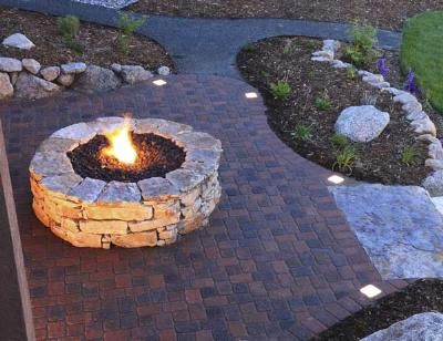 113 best fire pits images on pinterest | backyard ideas, patio ... - Patio Ideas With Firepit
