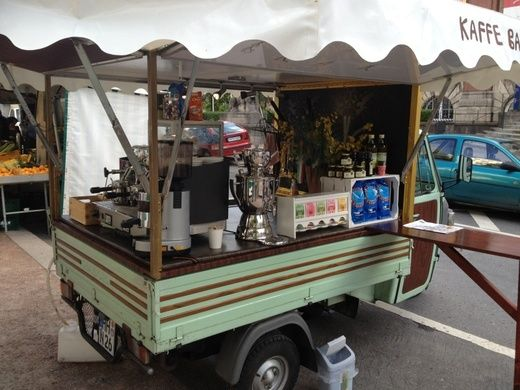 Mobile Kaffee Bar 3Rad Espresso Bar