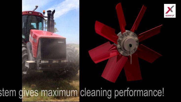CASE STX STEIGER 435 with reversible fan : CLEANFIX