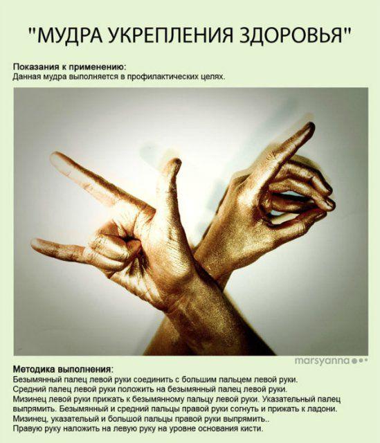 Мудры и их Значения - mimege.ru