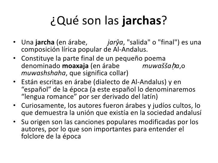 Definicion E Orixe Das Carxas Definiciones Escribir En Arabe Al Andalus