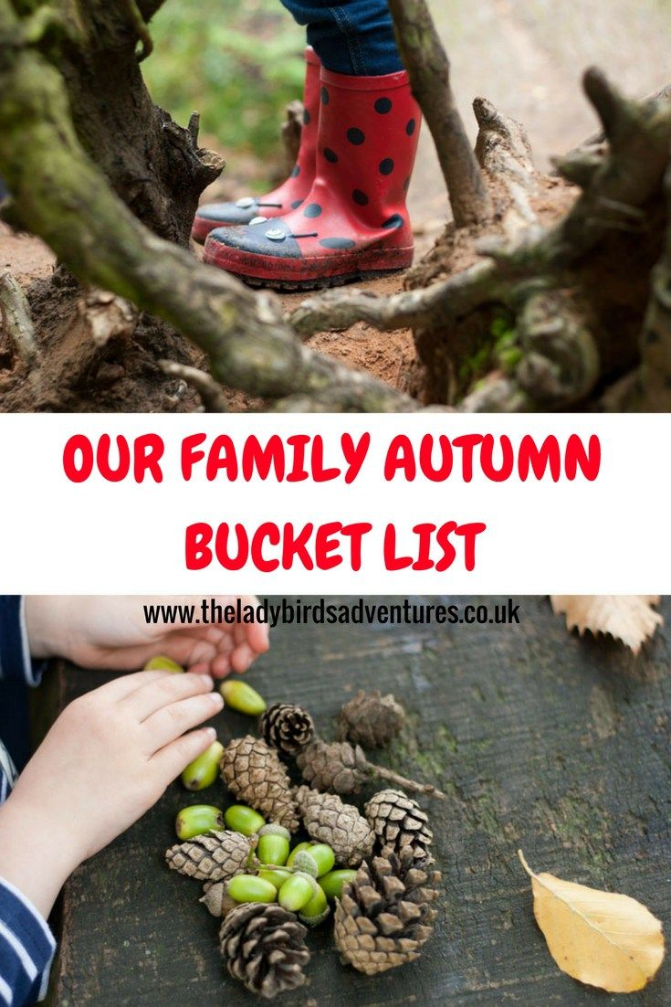 Our Family Autumn Bucket List #autumn