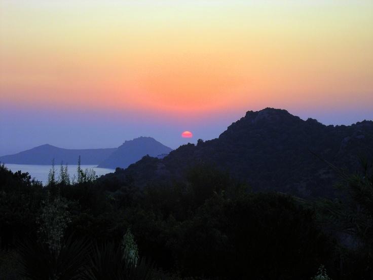 Sunset at Bodrum Retreat in Yalikavak, Bodrum, Turkey