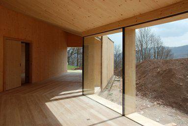 Casa Passiva - Struttura e Architettura in legno lamellare X-Lam - Bione, Италия - 2013 - estudoquarto_studiostanza