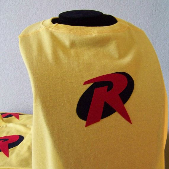 Robin Superhero CapeKids Dress up capeRobin by KidsSuperheroClub