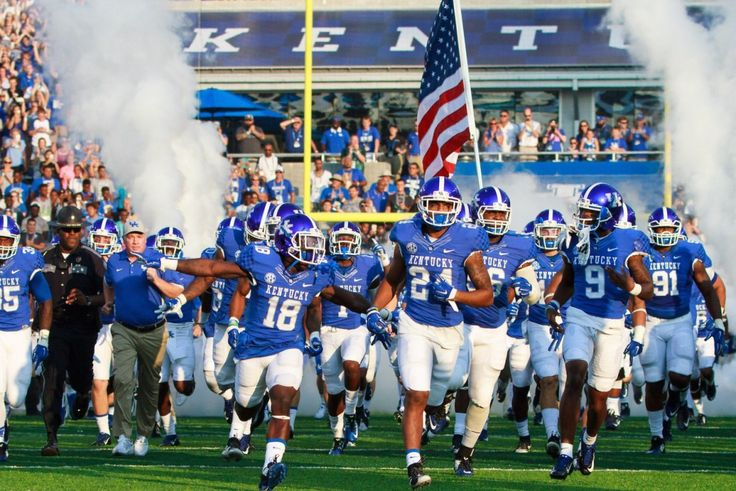 Printable 2016 Kentucky Wildcats Football Schedule
