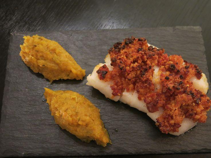 Dos de cabillaud et sa croute de crumble au chorizo | AKalie – Blog culinaire d'Aurélie Kalt