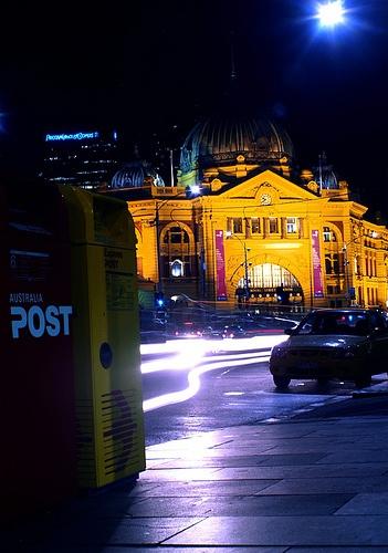 Flinders Street Station Melbourne Victoria Australia