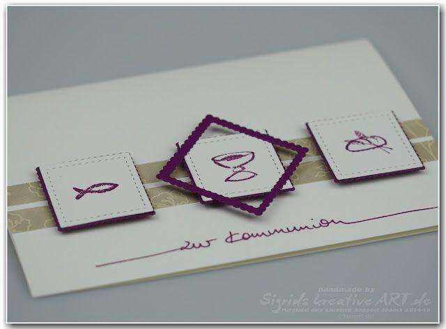 Stampin' Up! Ideenblog - Sigrids kreative ART: 7 Tage - 7 Sketche #stampinup #kommunion #konfirmation #taufe