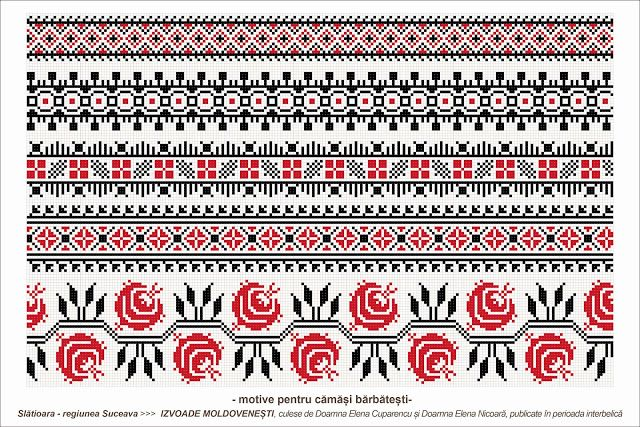 Semne Cusute Romanian Traditional Motifs Moldova Suceava S Beads Patterns Romania
