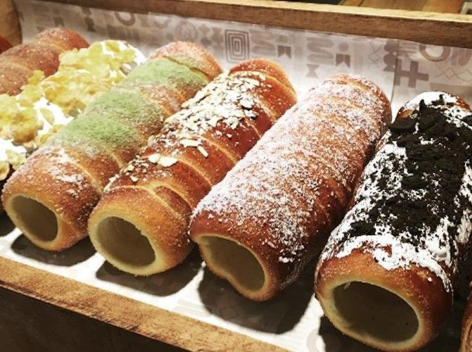 Totally tubular: New bakery specializes in Hungarian Chimney Cake