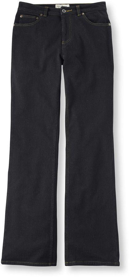 Women's Comfort Knit Jeans, Straight-Leg