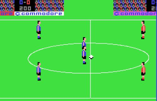 Play 7 Classic Commodore 64 Soccer Games Online   World Soccer Talk