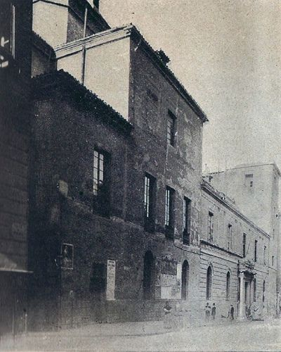 1895. Calle de Atocha. Antiguo convento de la Trinidad. | Flickr: Intercambio de fotos