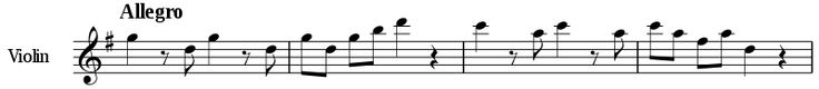 Eine kleine Nachtmusik- Mozart