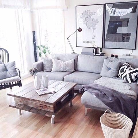 Lounge goals 👌 #inspiration #interior #interiordesign #scandinaviandesign #home…