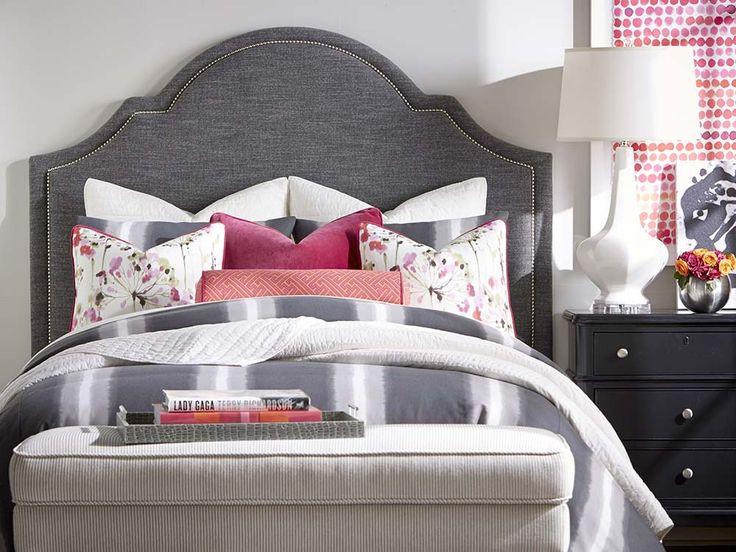 Charming Custom Uph Beds Barcelona Bonnet Headboard