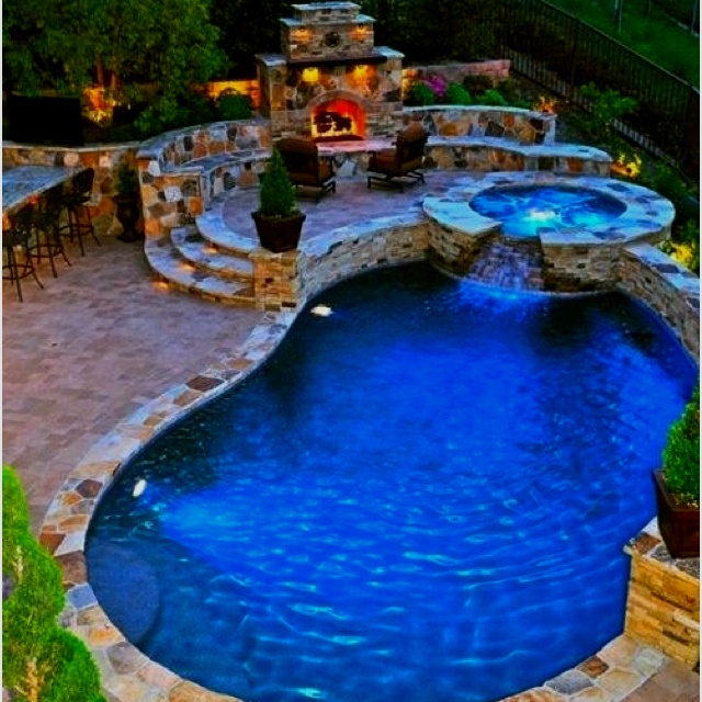 Dream backyard, well only part considering I want more than 1 acre eventually!!