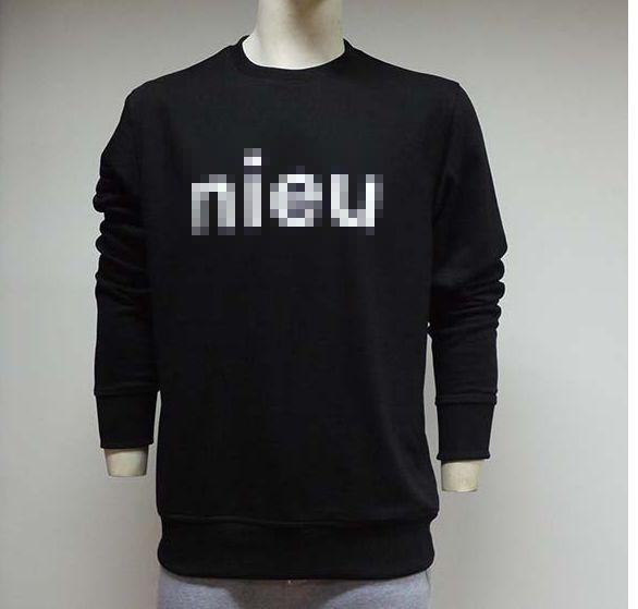 Comfortable sweatshirt with customized logo printing.kanlin @lxapparel.com,wechat/whatsapp