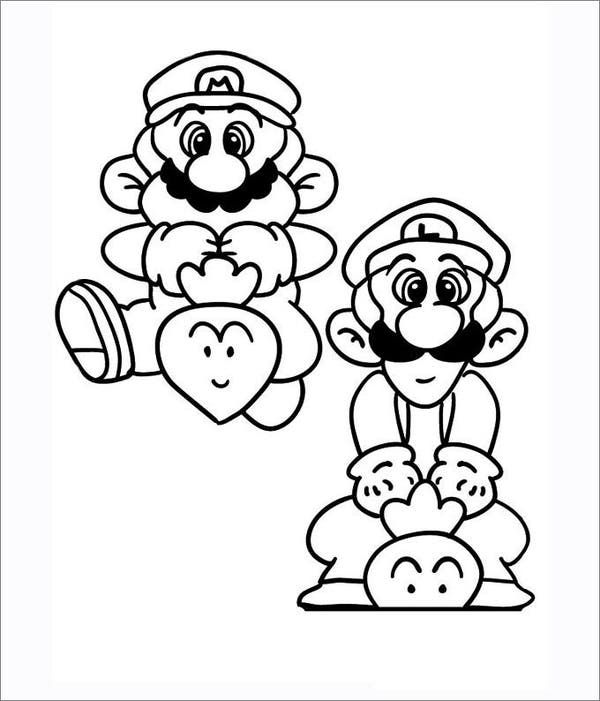 Mario Coloring Pages Free Coloring Pages Mario Coloring Pages Coloring Pages Free Coloring Pages
