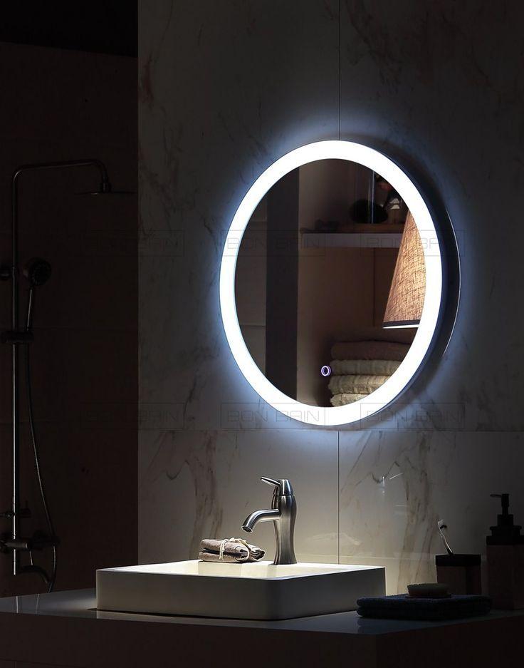 Miroir Lumineux Eclairage Touche Sensitive Et Anti Buee Led