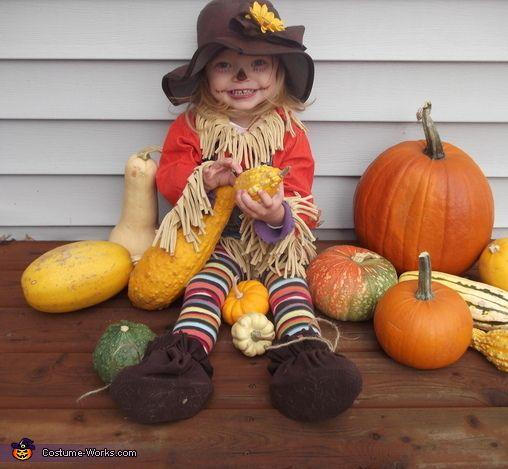 Lil' Scarecrow - 2013 Halloween Costume Contest