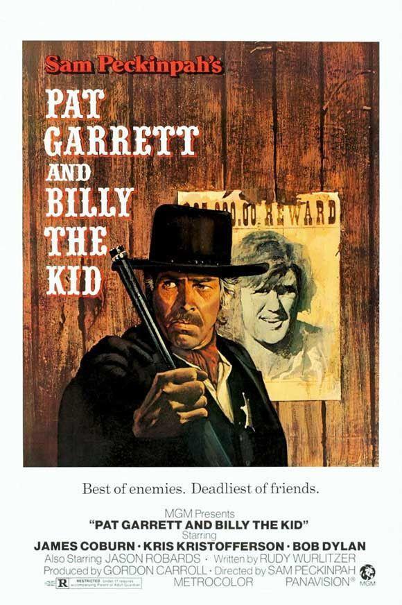Pat Garrett and Billy the Kid 27x40 Movie Poster (1973)