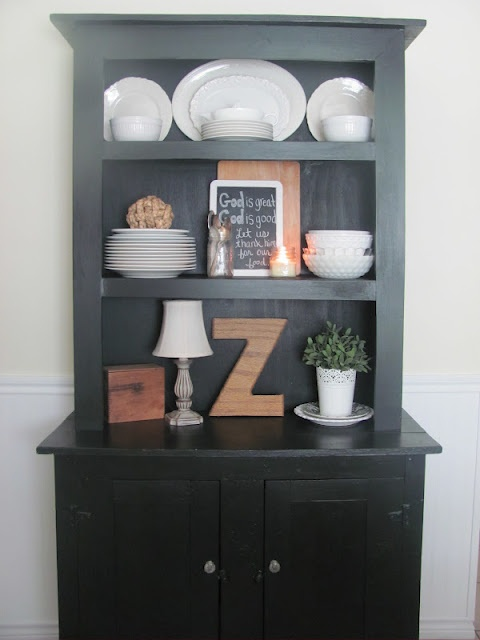 105 best Ideas for my hutch images on Pinterest   Dining room ...