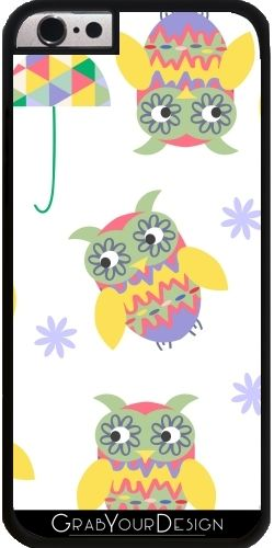 GrabYourDesign - Case for Iphone 6/6S Owls pattern