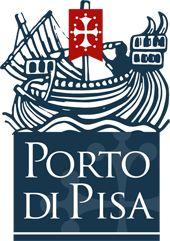 stemma della città di Pisa con logo del Porto pisano