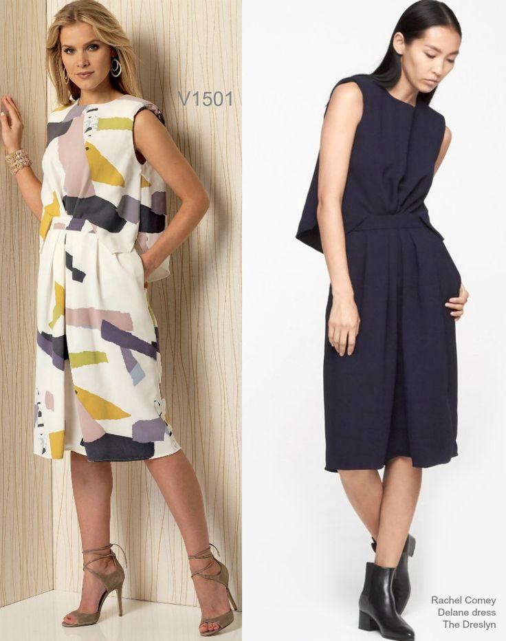 Sew the Look: Vogue Patterns Rachel Comey dress pattern V1501