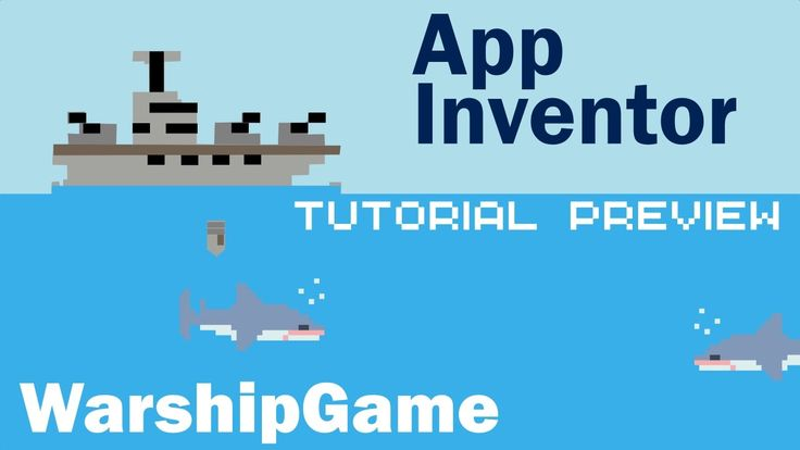 warship game made in app inventor   New tutorials coming soon!